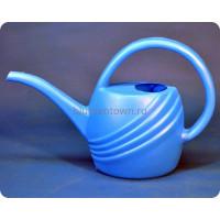 Лейка пластиковая 1,4л (голубая) м140