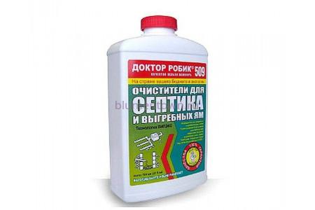 Очиститель для септика и выгребной ямы Доктор Робик 509 798 мл