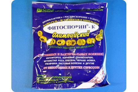 Нано-гель Фитоспорин-К Олимпийский 200г (от грибных и бактериальных болезней)