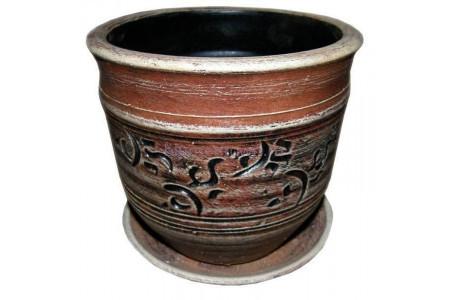 Горшок для цветов керамический «Ника №0»