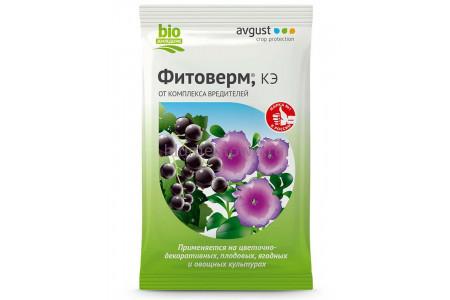 Средство защиты растений Фитоверм 4мл (паутин.клещ,тля,трипсы)