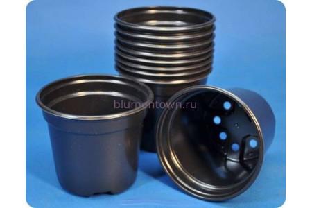 Кашпо для рассады круглое 11см х 9,5см пластиковое