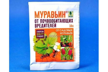 """Средство от муравьев """"Муравьин"""" 10 г (Грин Бэлт)"""
